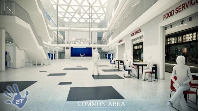 21st Century School: New High School / Ramstein Air Base
