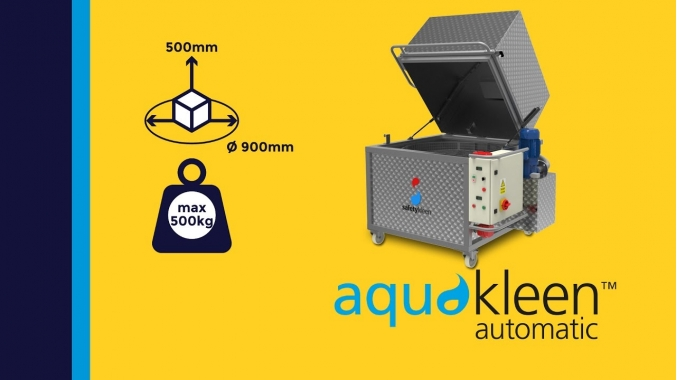 """""""Aquakleen automatic M312"""" - modulare Toplader-Reinigungsanlage, medium"""