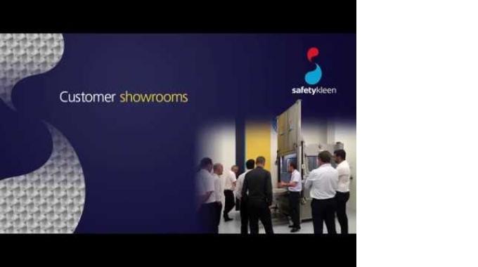 Safetykleen - Kunden-Demozentren & -Showrooms