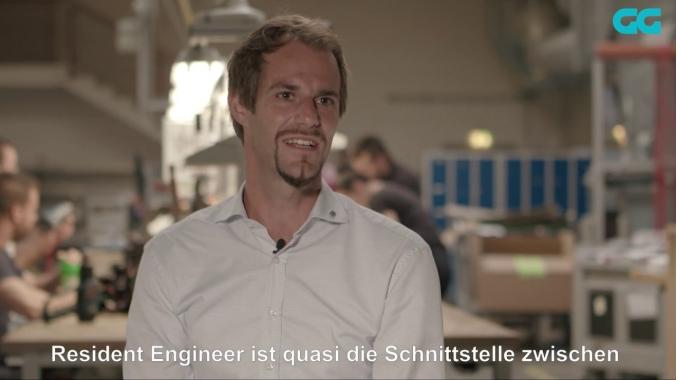 Ein Tag als Resident Engineer bei Gebauer & Griller