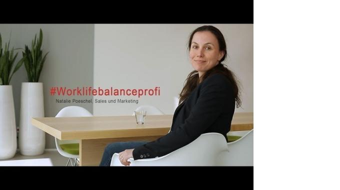 #MeineSAPKarriere: Natalie Poeschel über Work-Life-Balance und das Team in der SAP-...