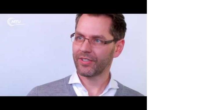 Wir gestalten die Zukunft der Luftfahrt - Torben Lohse arbeitet bei der MTU Maintenance ...