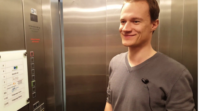mobileX-Elevator mit Tobi
