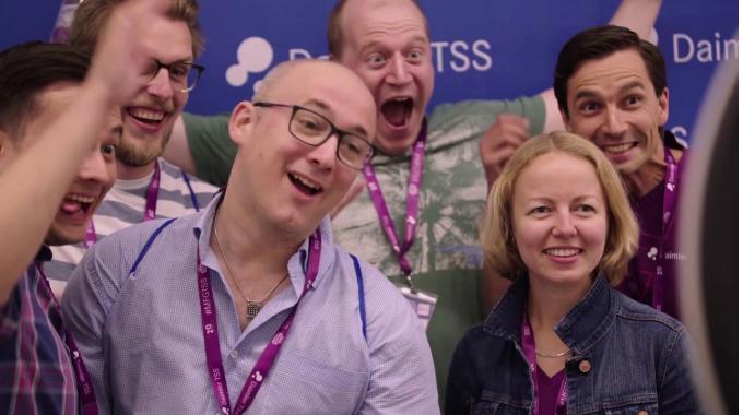 Impressionen von der Daimler TSS Convention FEEL THE BIT