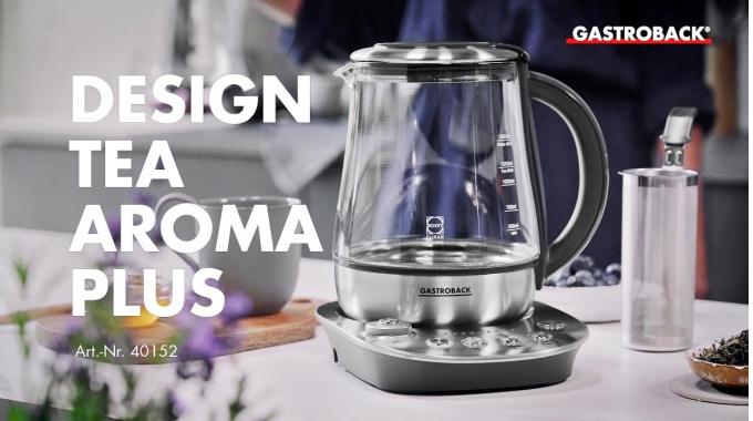 Gastroback Teekocher 42434 Design Tea Aroma Plus