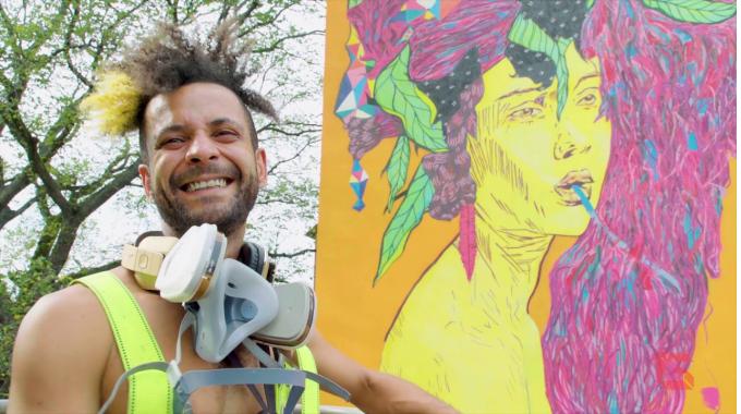 Street Art Stories mit Ramon Martins aus Brasilien ❤ | Making-Of | Gundlach