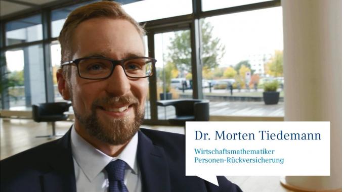 Dr. Morten Tiedemann, Wirtschaftsmathematiker Personen-Rückversicherung
