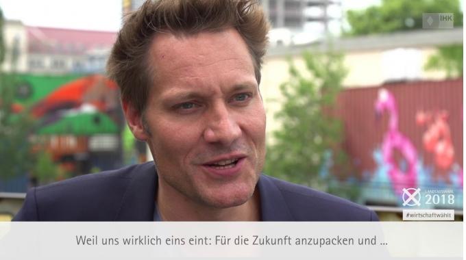 #wirtschaftwählt: IHK-Interview mit Ludwig Hartmann (Die Grünen)