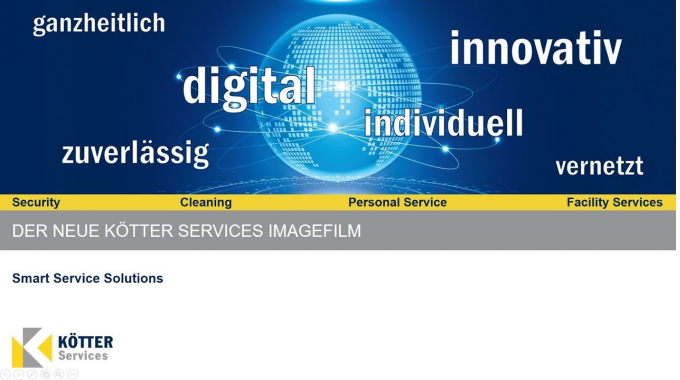 Der neue KÖTTER Services Imagefilm