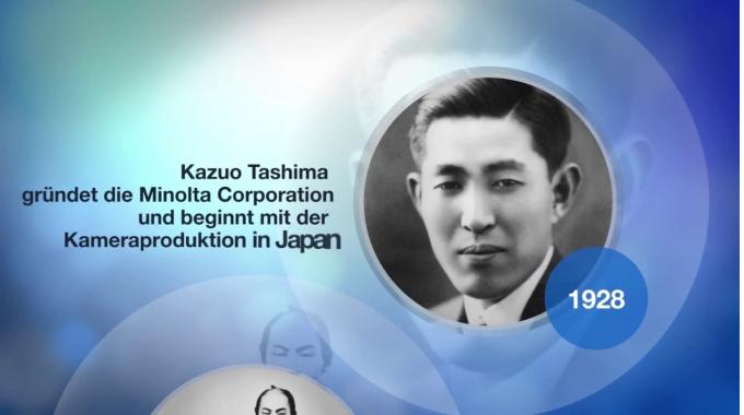 Informieren Sie sich über die interessante Geschichte von Konica Minolta und die vielen ...