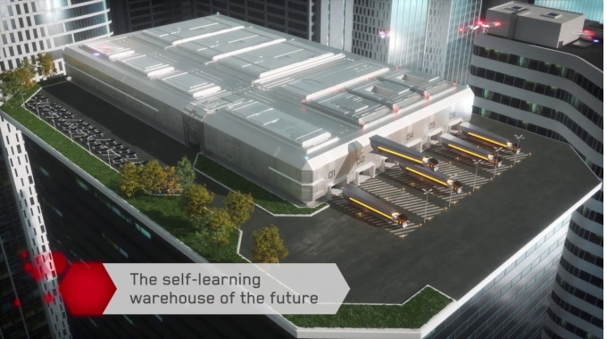Swisslog presents: The self-learning warehouse of the future