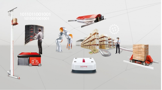 Intralogistics automation: Robotic and data-driven miniload and pallet handling