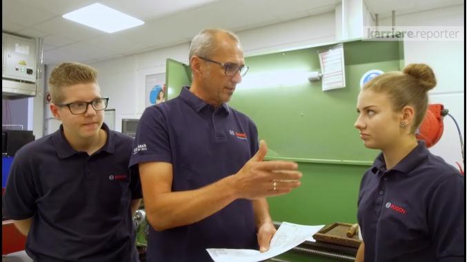 Rundgang durch das Unternehmen Bosch Gruppe Österreich auf karriere.at