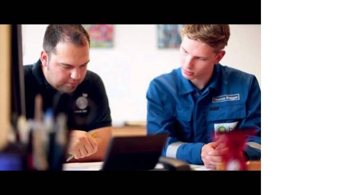 Menschen bei BP: Thomas Megger, dualer Student