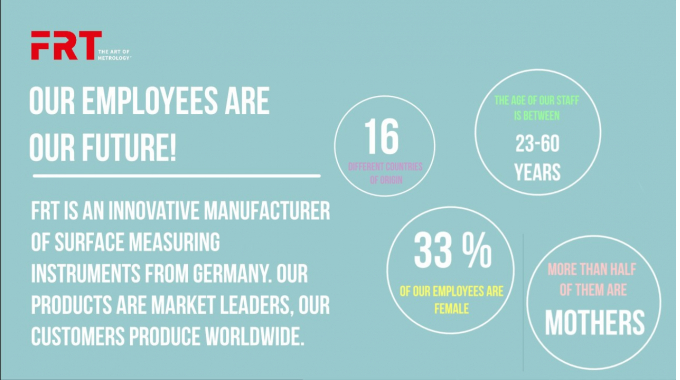 Diversity drives us! Figures and facts about FRT employees