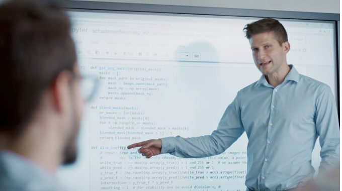 Wie wir mit Machine Learning und künstlicher Intelligenz Prozesse und Produkte ...