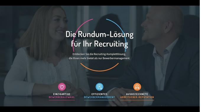 Die Recruiting Rundum-Lösung von softgarden