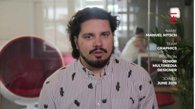 Work at Webrepublic – Manuel Ritsch, Senior Multimedia Designer
