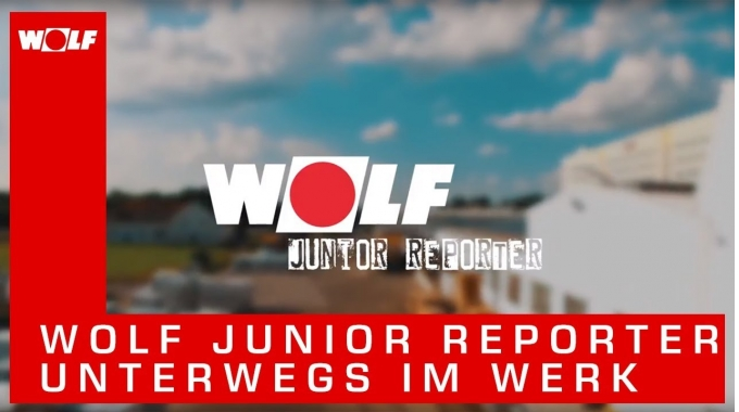 WOLF Junior Reporter – Unterwegs im Werk in Mainburg