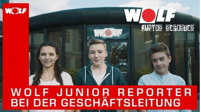 WOLF Junior Reporter – Im Gespräch mit der Geschäftsleitung
