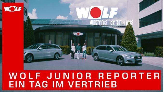 WOLF Junior Reporter – Ein Tag im Vertrieb