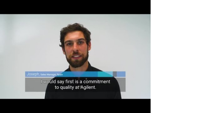 What do you like about working at Agilent? Joseph