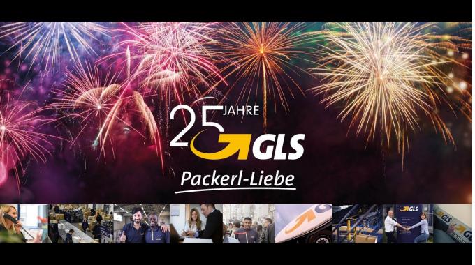 GLS feiert 25 Jahre Packerl-Liebe!