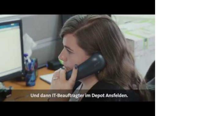 Die Frau für alle Fälle: Daniela aus der Field-IT!