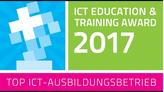 Leuchter bedankt sich herzlich für den ICT Education & Training Award 2017!