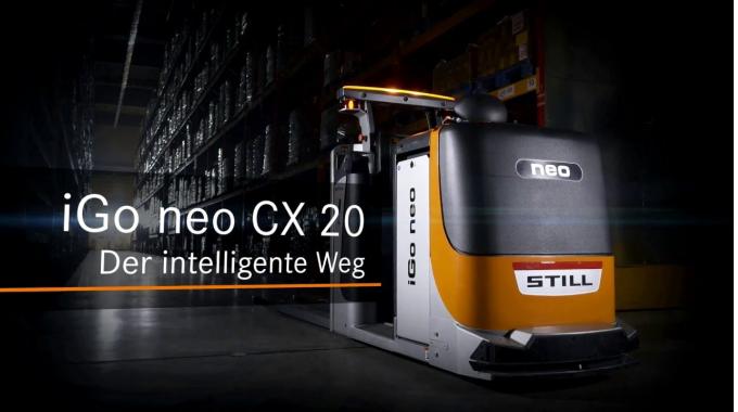 Kommissionierer iGo neo CX 20 - Der intelligente Weg