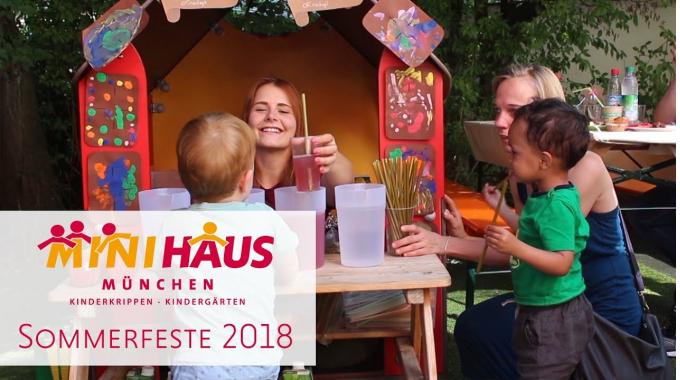 MINIHAUS München Sommerfeste 2018