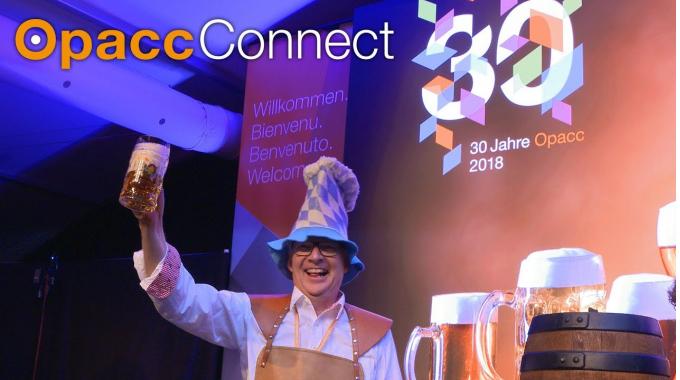 OpaccConnect2018 - Geburtstagsfeier 30 Jahre Opacc