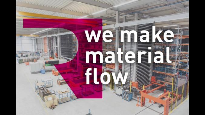 Material Flow at Nobels BV - the Remmert Solution