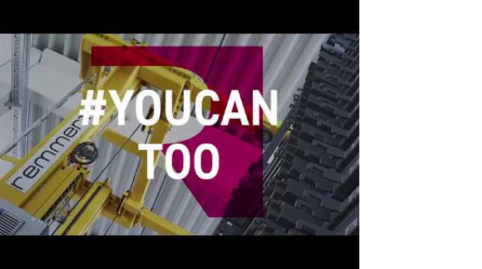 Want to reduce your material handling times by up to 75%? – #YouCanToo