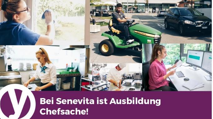 Bei Senevita ist Ausbildung Chefsache!