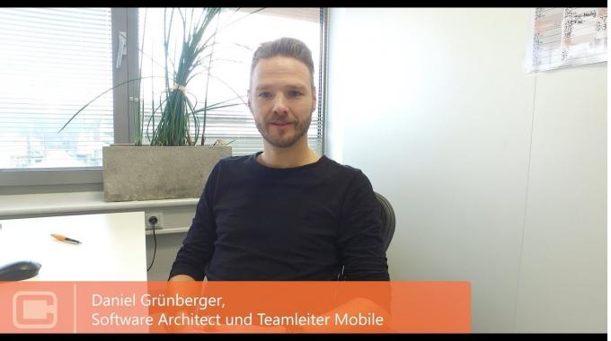 Daniel Grünberger, Teamleiter & Software Architect