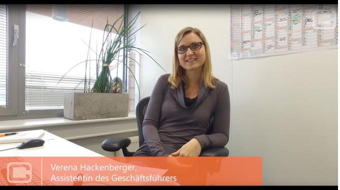 Verena Hackenberger, Assistentin der Geschäftsführung