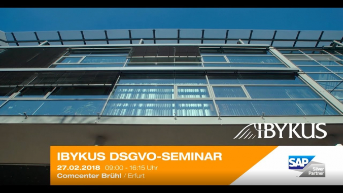 IBYKUS DSGVO SEMINAR - 27.02.2018