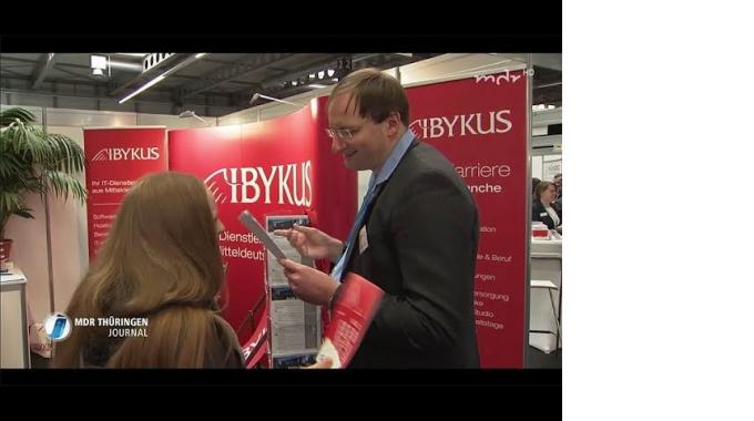 IBYKUS auf der academix  / MDR Thüringenjournal