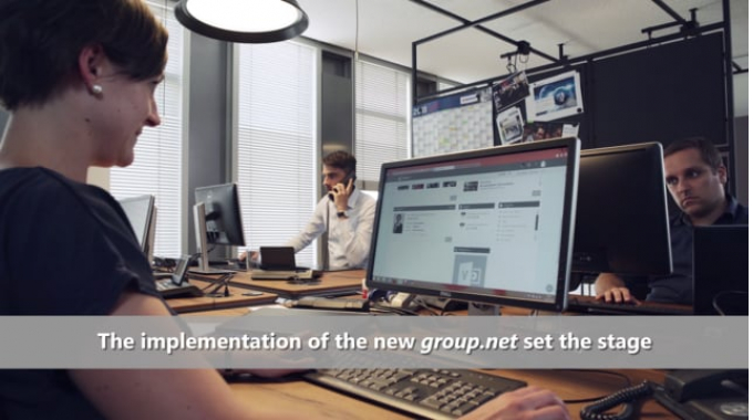 Berner Group Testimonial Video SharePoint