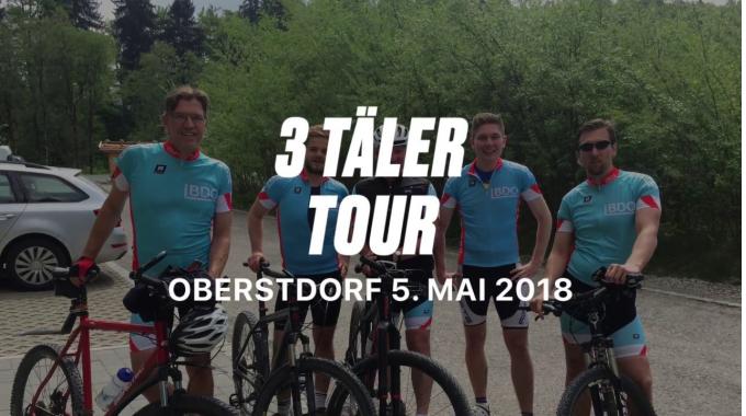 Sportlich unterwegs:  BDO Team im Allgäu