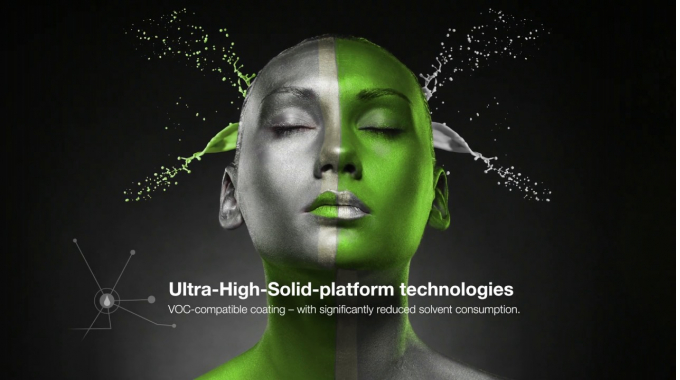 Ultra-High-Solid platform technologies | UHS | FreiLacke | industrial coating