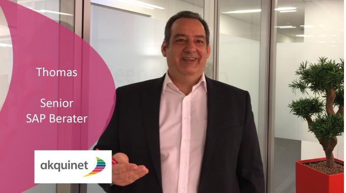 Senior SAP Berater Thomas berichtet über seine Arbeit
