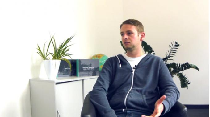 Gerrit Theesfeld - Wie sieht ein typischer Arbeitsalltag beim Kunden vor Ort aus?