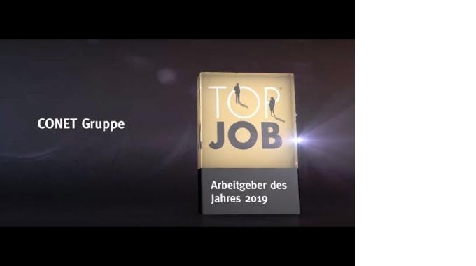 CONET ist Arbeitgeber des Jahres 2019