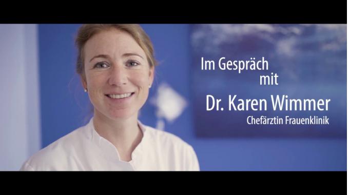 DIAKO Bremen - Portrait von Dr. Karen Wimmer, Chefärztin der Frauenklinik im DIAKO