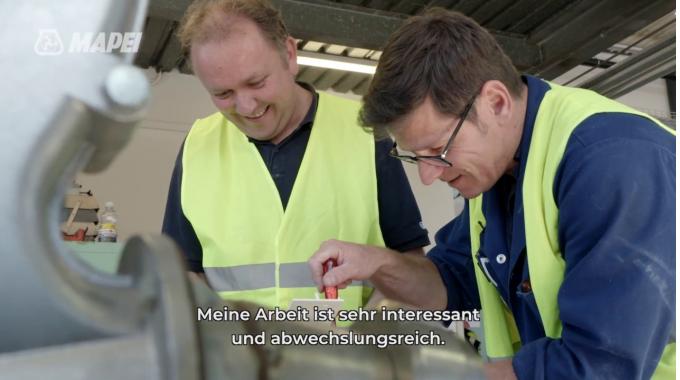 Mapei Suisse - Jacques Pansini - Elektriker