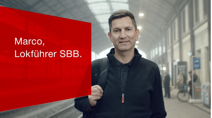 Marco, Lokführer SBB.
