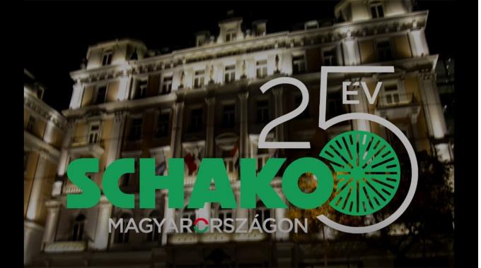 25 Jahre SCHAKO MAGYARORSZÁGON | Firmenjubiläum in Budapest