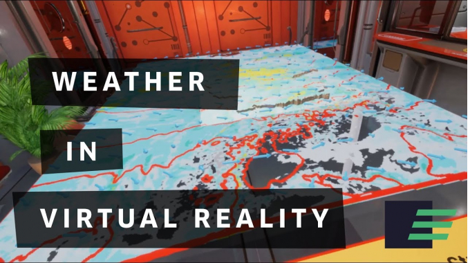 Weather in Virtual Reality (Pre-Alpha) | WeatherVR